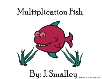 Multiplication fish (match fact and answer...excellent mat