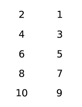 Multiplication flash Cards with Answers on the Back