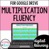 Multiplication fluency for Google Classroom DIGITAL