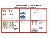 Multiplication 2nd Grade Review Beginning 3rd--Printables