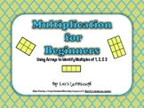 Multiplication for Beginners- Using Arrays for Multiples of 1, 2, & 3