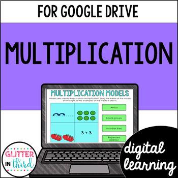 Understanding Multiplication for Google Classroom DIGITAL