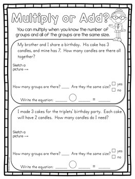 Multiplication for Special Education and Intervention, Practice and Review Ch. 2