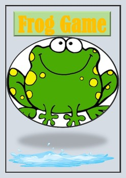 Multiplication frog game center activity