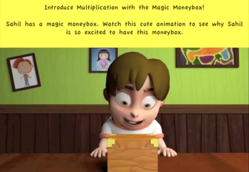 Have Fun with Multiplication with the Magic MoneyBox