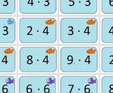 Multiplication game Jump multiplications on the floor