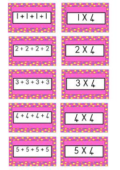 Multiplication game x4