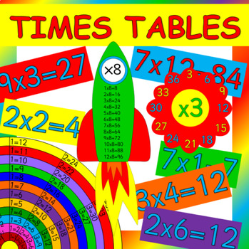 Multiplication games and activities- times tables