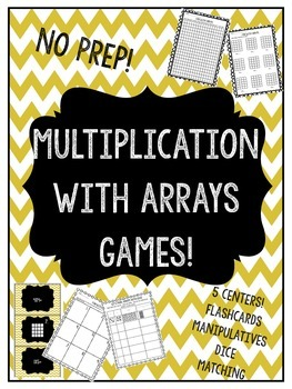 Multiplication games when working on multiplying with arrays