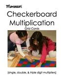 Montessori Checkerboard Multiplication (Advanced)
