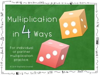 Multiplication in 4 Ways Center