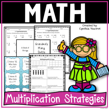 Multiplication Strategies Activities Worksheet And Games Multiplication 4th