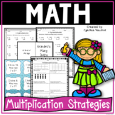 Multiplication Strategies!  4th Grade!