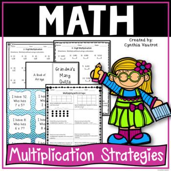 Multiplication Strategies!  4th Grade!