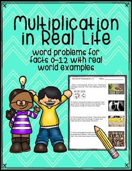 Multiplication in Real Life Word Problems