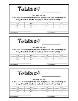 Multiplication letter. STUDY LETTER.