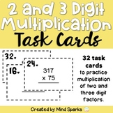 Multiplication (multi-digit) Task Cards