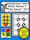Multiplication of 3's Maze Runner!