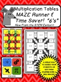 Multiplication of 6's Maze Runner Game