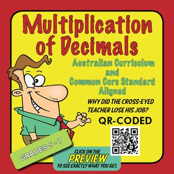 Multiplication of Decimals – Australian Curriculum Year 6 – Extension Activity