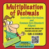 Multiplication of Decimals – Australian Curriculum Year 6