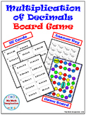 Multiplication of Decimals Board Game - Makes a Great Math