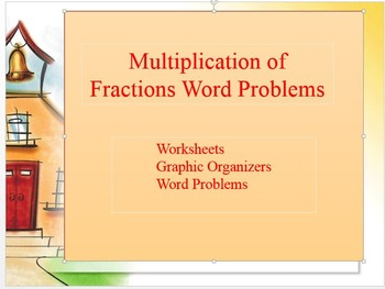 Multiplication of Fraction Word Problems
