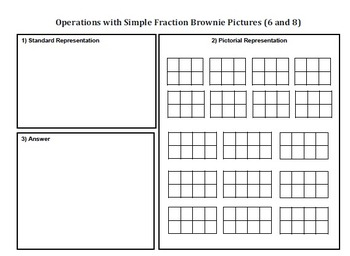 Multiplication of Fractions: Games , Activities and Centers