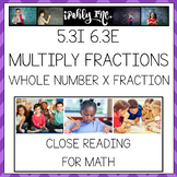 Multiplication of Fractions Word Problems