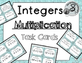 Multiplication of Integers Task Cards