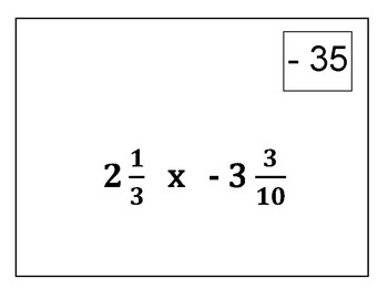 Multiplication of Mixed Numbers Circuit