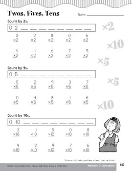 Multiplication of Tens, Fives, and Twos