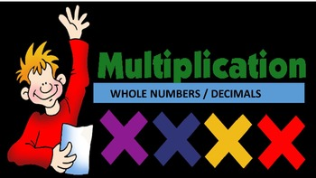 Multiplication of Whole Numbers / Decimals