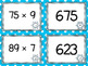 Multiplication of Whole Numbers Matching Card Set - Up to 3 x 2 digits