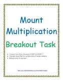 Multiplication of Whole Numbers and Decimals Breakout Game