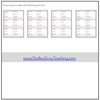 Multiplication or Division? Problem Solving Task Cards | Basic Facts