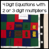 Multiplication questions: 2 and 3 digit multipliers