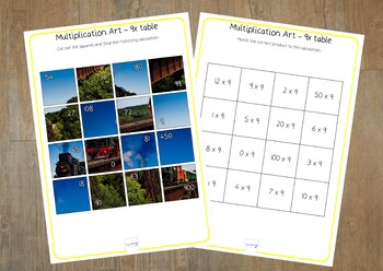 Multiplication revision 9x
