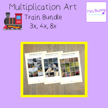 Multiplication revision bundle 3, 4, 8x