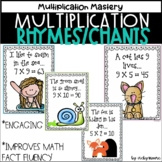 Multiplication Rhymes and Chants  Distance Learning