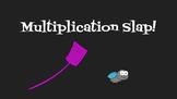 Multiplication slap game