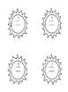 Multiplication sun theme worksheets