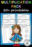 Multiplication Pack (12 x 12) - 20+ printables