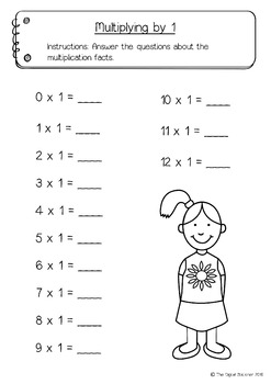 Multiplication Pack (12 x 12) - 20+ printables