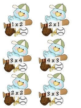 Multiplication timed tests and games