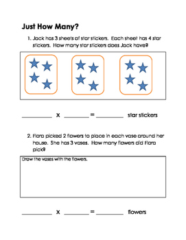 Multiplication to 7x7 Worksheets and Quiz