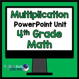 Multiplication Math Unit 4th Grade Common Core