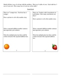 Multiplication using grouping, arrays, repeated addition and multip. facts