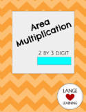 Multiplication with Area (2 by 3 digit multiplication)