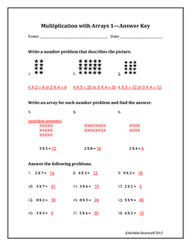 Multiplication with Arrays 1: Test Your Skills!